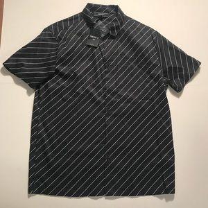 Men's forever 21 striped shirt NWT Sz L